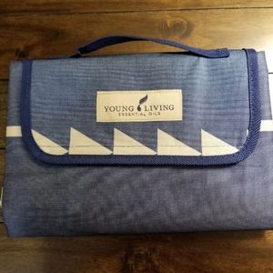 NWT Young Living picnic blanket
